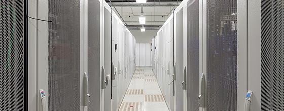 The Equinix data center facility in Munich
