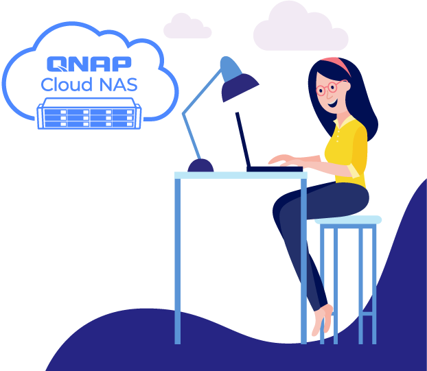 QuTScloud illustration
