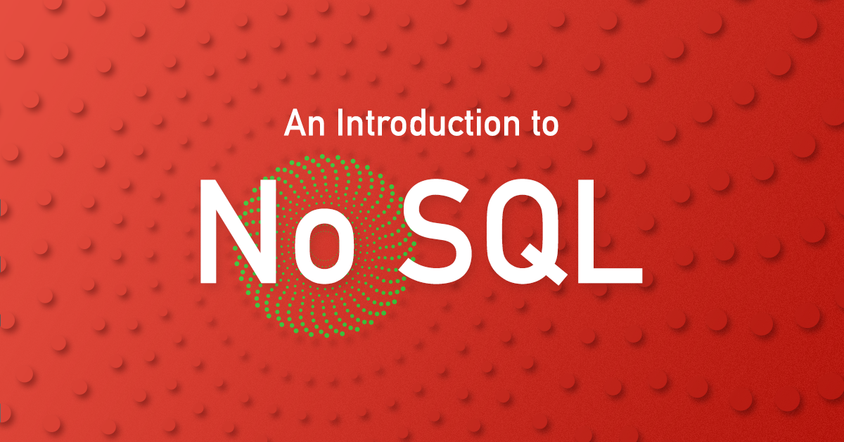 Introduction to NoSQL in 2016