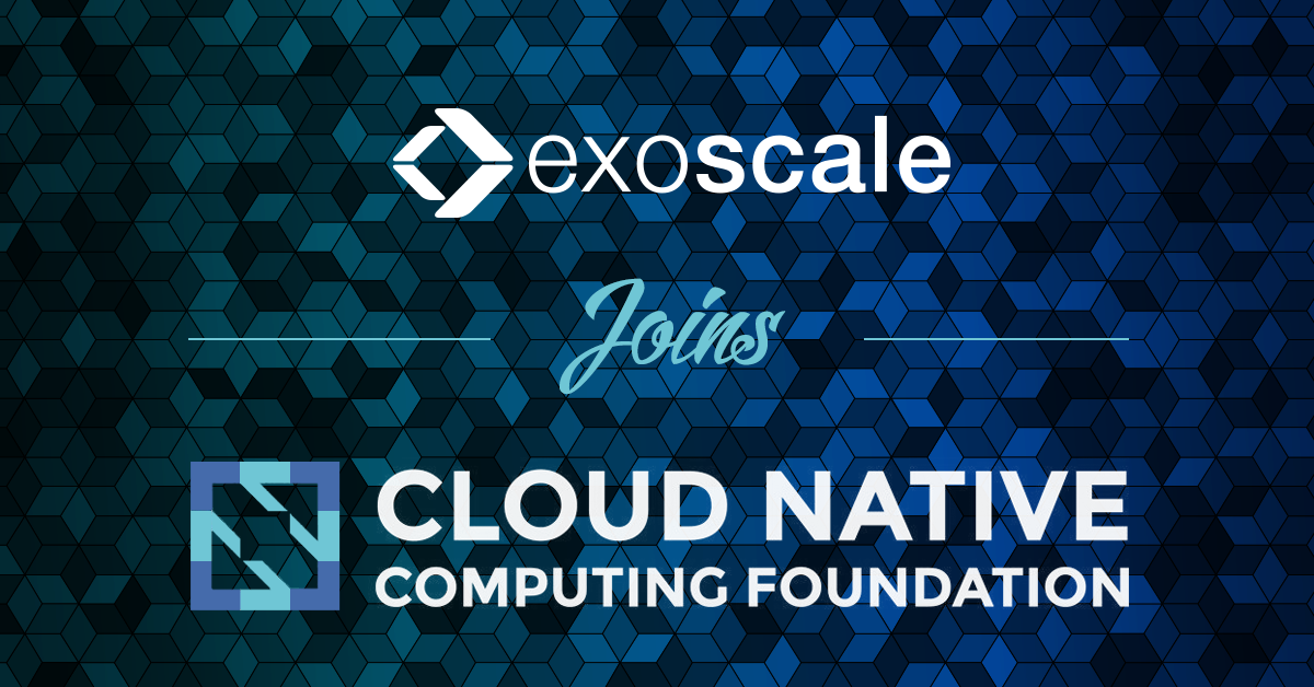 Exoscale joins the Cloud Native Computing Foundation