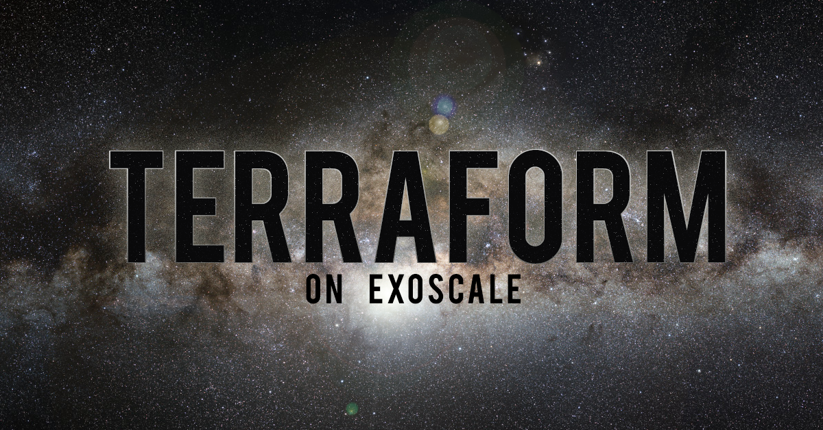 Terraform on Exoscale