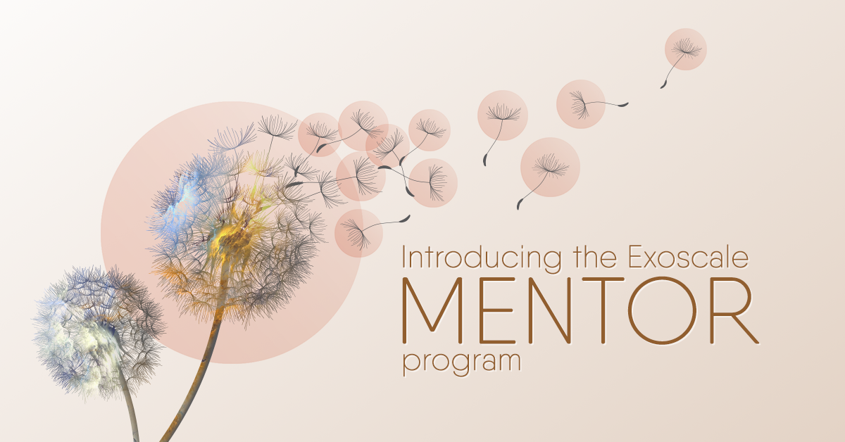 Exoscale's mentor program