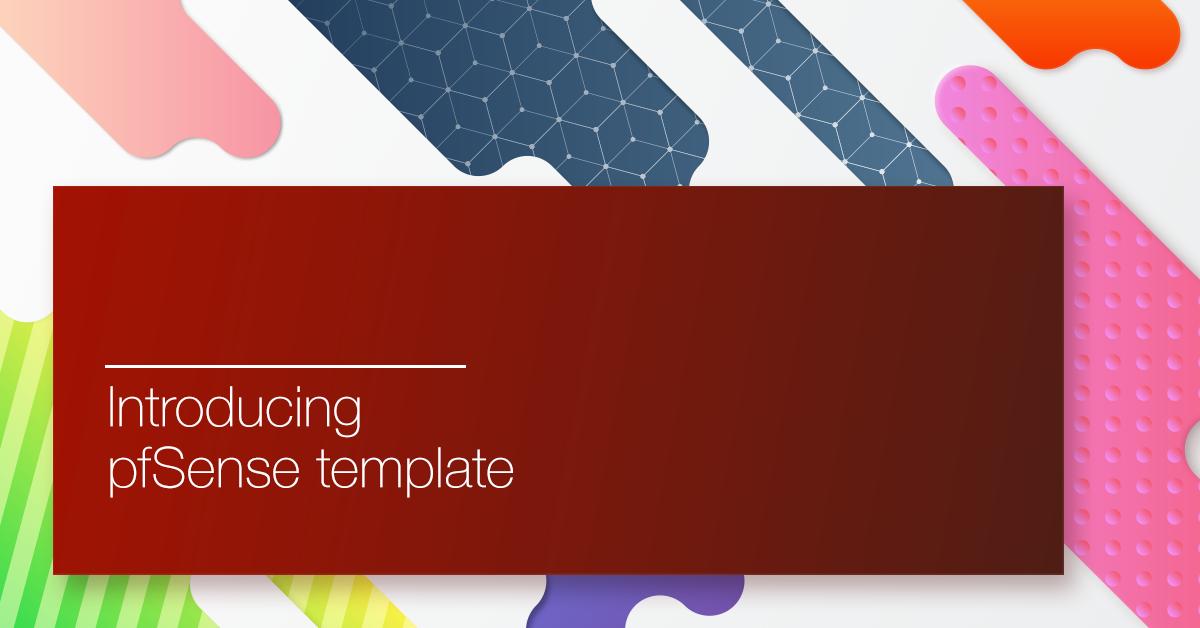 Introducing pfSense Template on Exoscale