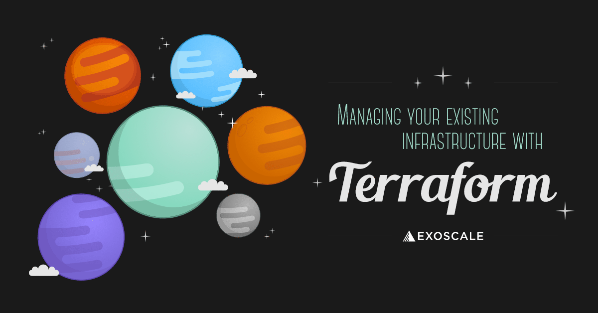 image for Managing your existing infrastructure with Terraform