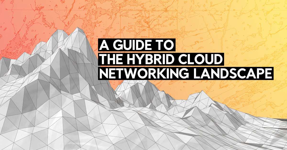 The hybrid cloud networking landscape