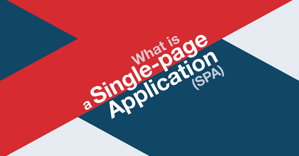 single-page application infographic