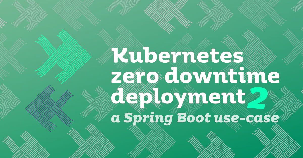 Zero downtime deployment with Kubernetes and Spring Boot