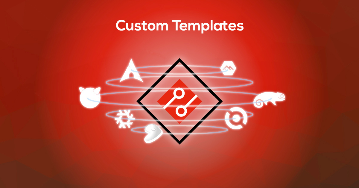 Exoscale Custom Templates