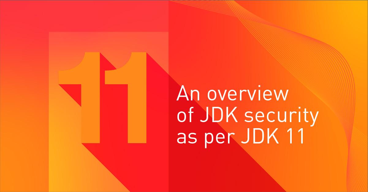 JDK Security as per JDK 11