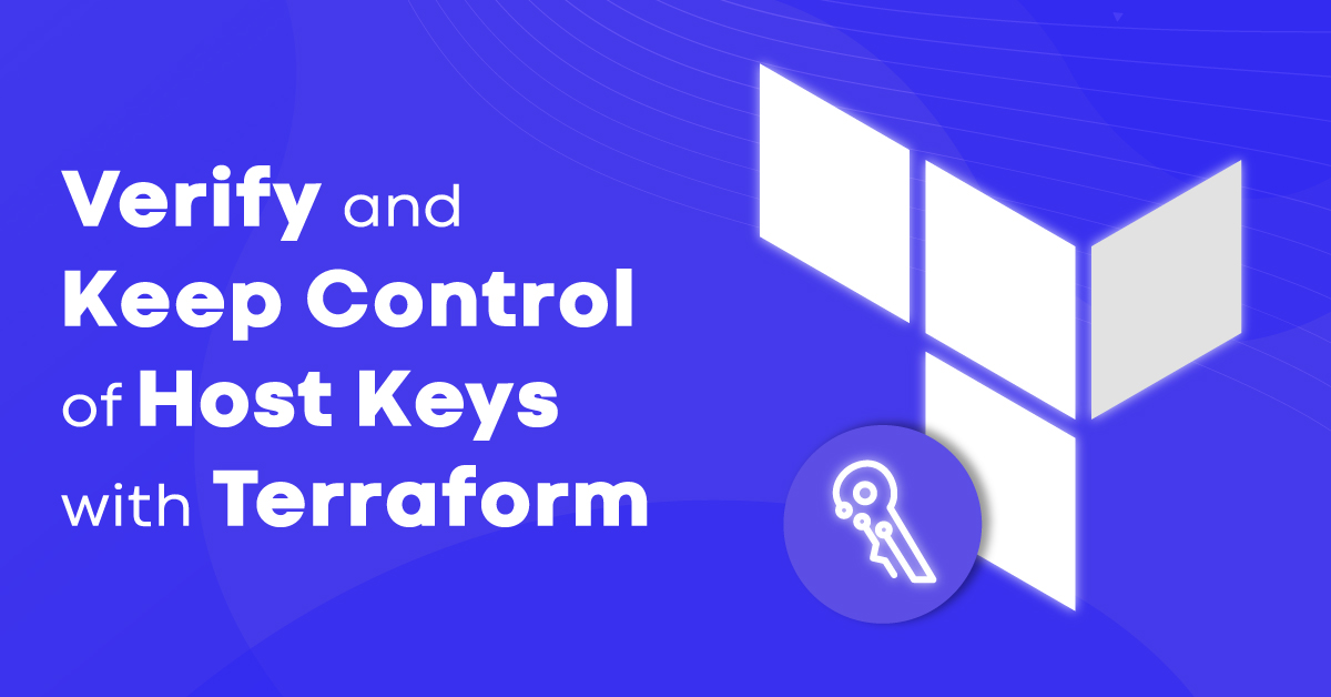 How to manage your host keys with Terraform